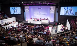 The Church of England General Synod meeting at the University of York.