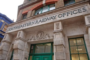 the station's 1893 South Eastern Railways offices