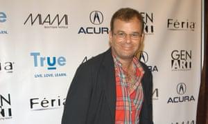Rick Moranis during Olympus Fashion Week Spring 2005