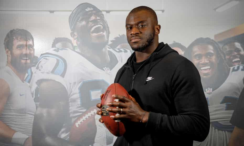 Efe Obada: 'They didn't know how hard I'd had to work, or went through, to reach that moment. Emotion poured out of me.'