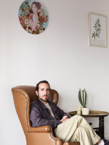 'CBD will change culture': Aaron Horn at his LDN CBD boutique in Camden.