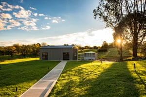 This is the new state of the art houses built for the clients in the community of Orange. They are on a large property with all needs catered for. There is a communal gymnasium and a new chook pen with long paved walking areas for the residents to enjoy their new grounds.
