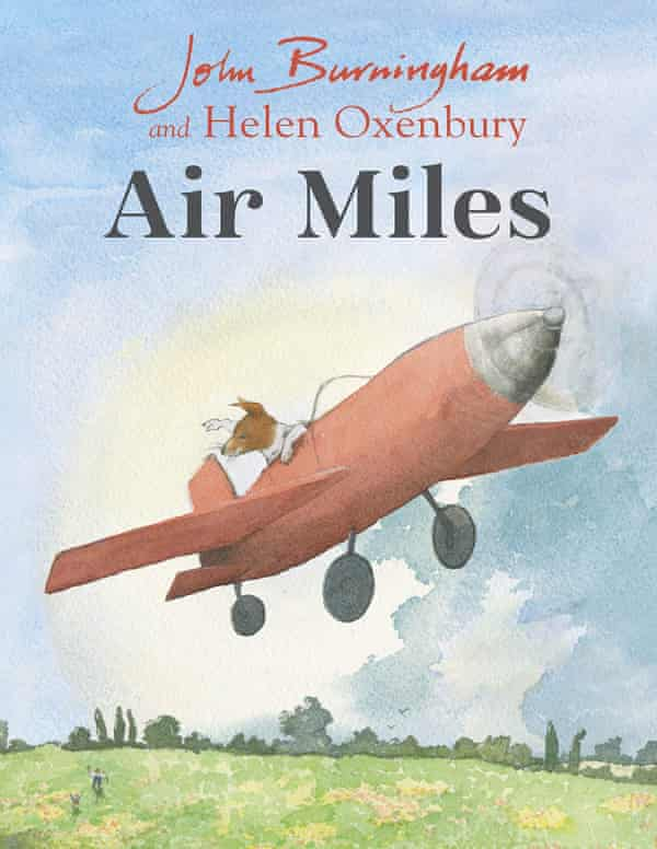 cover of Air Miles by John Burningham published by Penguin Books