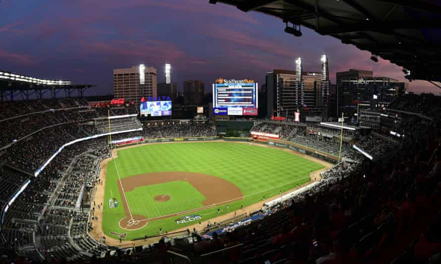 The MLB All-Star Game was due to be held at Truist Park, home of the Atlanta Braves.