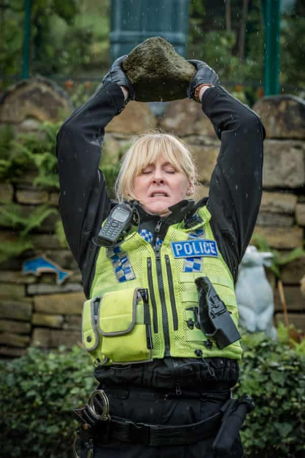 In Happy Valley, Catherine Cawood's anger is bound up with tragedy, grief and a humour that only a woman who has known great pain can have.
