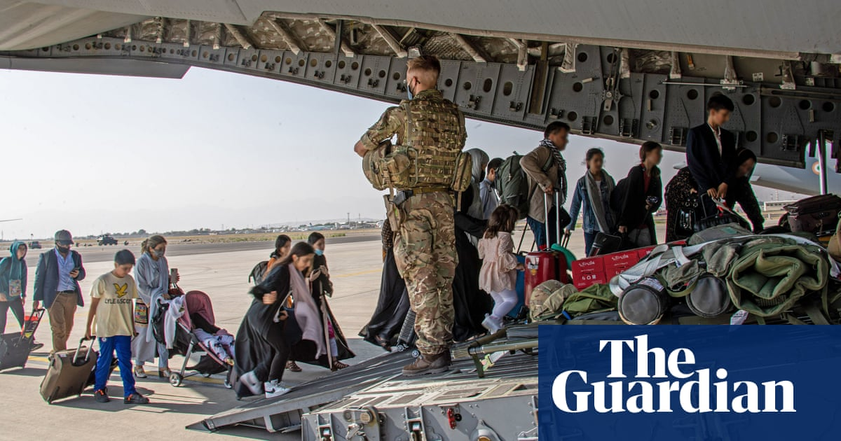 How is UK planning to help resettle Afghan refugees?