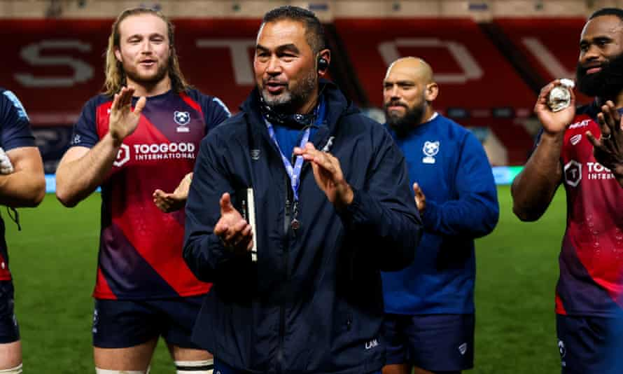 Bristol's director of rugby Pat Lam