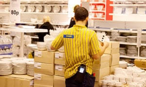 Ikea plans to introduce the living wage from April 2016 for all its UK staff.
