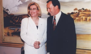 Author Anne Summers with former Prime Minister Paul Keating in 1994