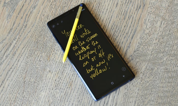 74250c0436e Samsung Galaxy Note 9 review: the do-everything phone | Technology | The  Guardian