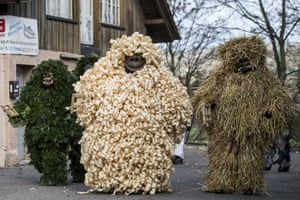 Hallwil, Switzerland: The prickly 'Baerzeli-Buebe'