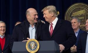 Gary Cohn, Trump's top economic adviser resigned on Tuesday.
