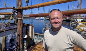 Holbaek resident Dennis Petersen thinks the town has a 'ghetto' of Muslims.