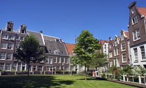 The Begijnhof Convent in central Amsterdam is a regular stop on the city's free walking tours.