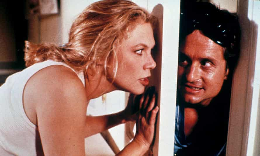 Kathleen Turner and Michael Douglas in War of the Roses