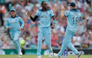 Jofra Archer looked completely at home in England's World Cup opener.