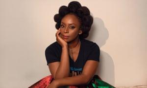 Chimamanda Ngozi Adichie - Author, photographed for The Guardian Review Nov 2020 Makeup: Adella Makeup Hair: Omoyele Omolade Photography: Manny Jefferson Lighting: Akin Akinrinwa 2G5A0725