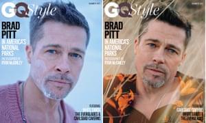 Brad Pitt on GQ cover