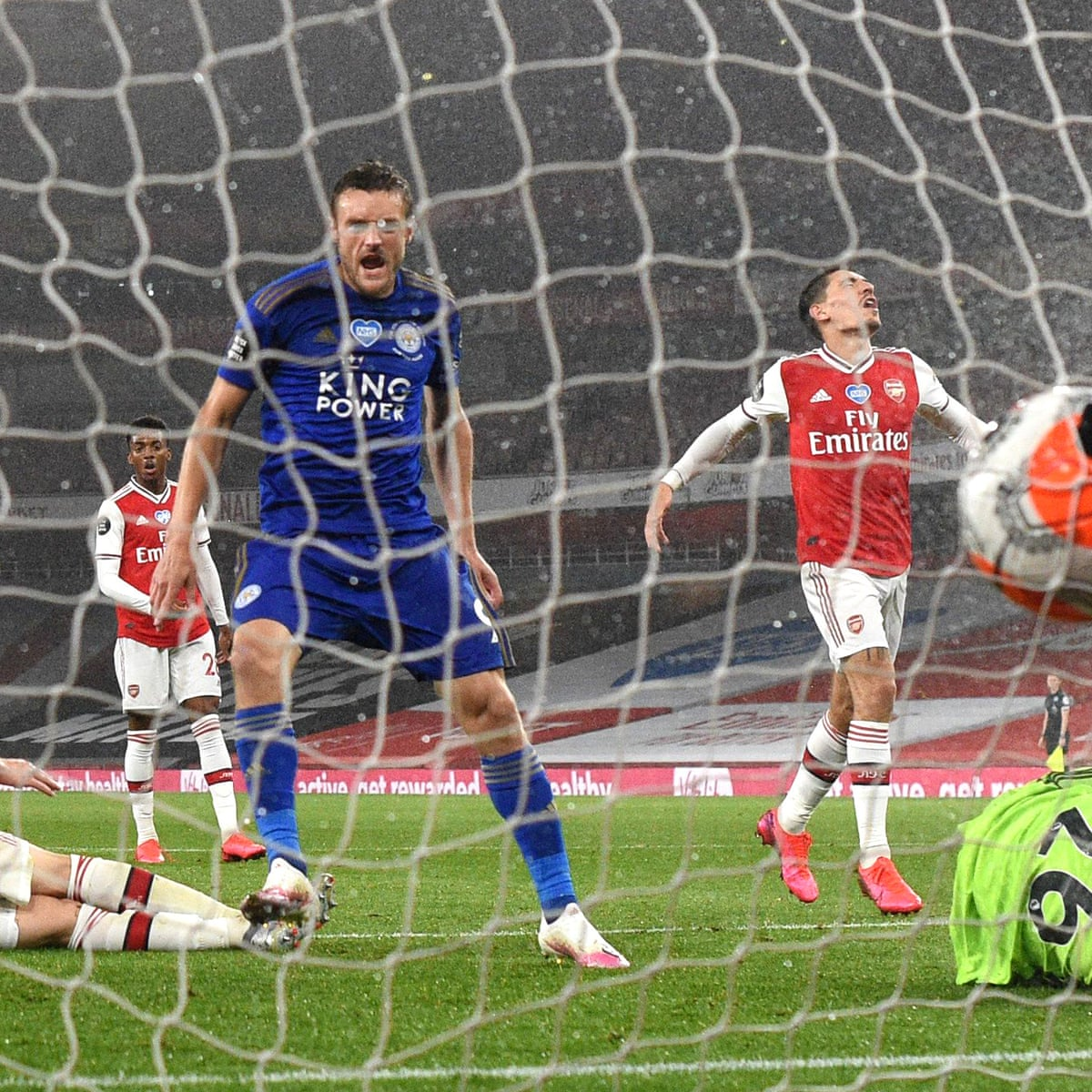 Arsenal 1 1 Leicester City Premier League As It Happened Football The Guardian