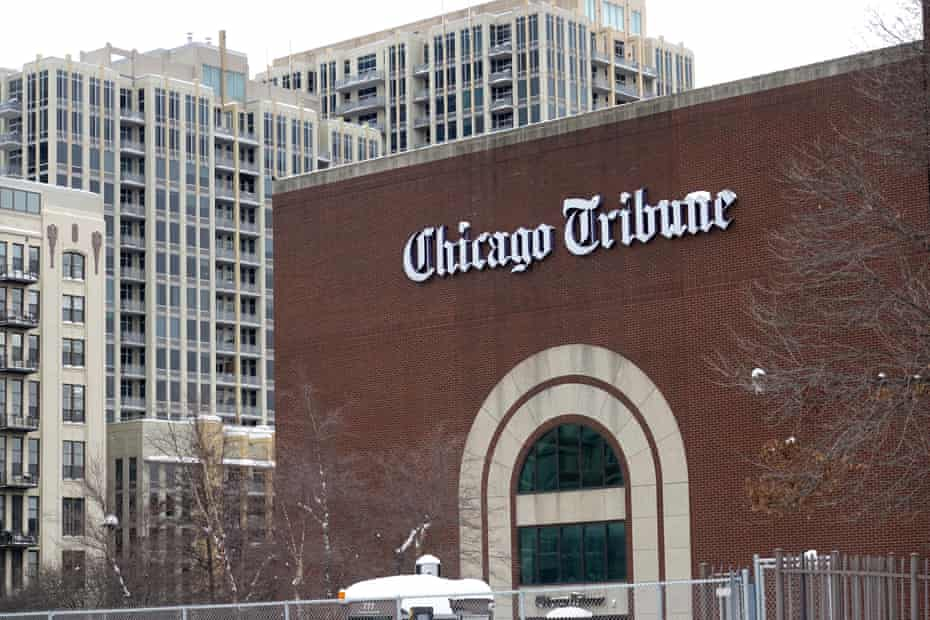 Hedge fund Alden Global Capital acquired Tribune Publishing last month, including the Chicago Tribune.