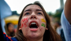 Bolsonaro's ultraconservative government sparked outrage when it revealed on April 30 at least 30 percent cuts to the annual budgets of federally-funded high schools and universities.