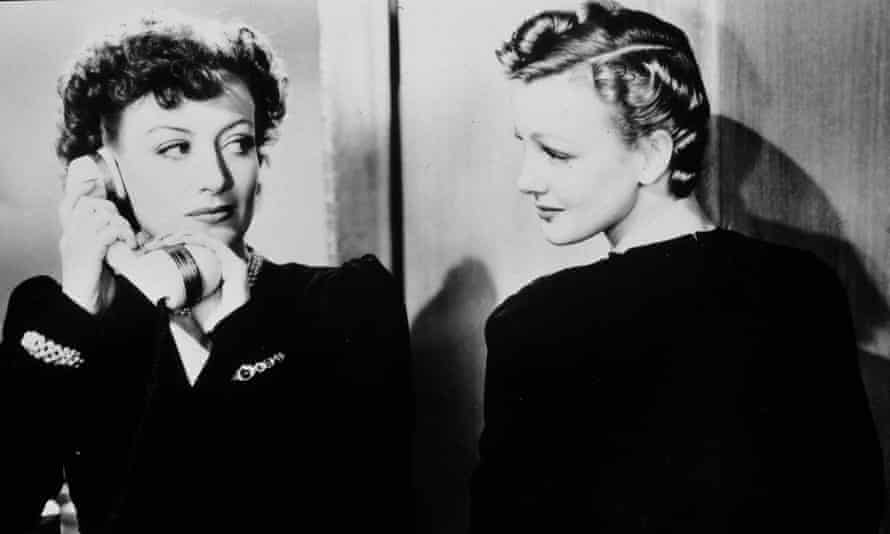 Joan Crawford and Virginia Grey in The Women.