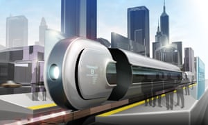 Phill Seagram future of transportation MagLev City Transit