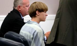 dylann roof in court