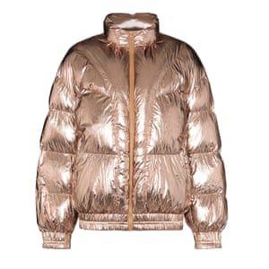 Metallic padded, £385, by Isabel Marant Etoile, from brownsfashion.com.