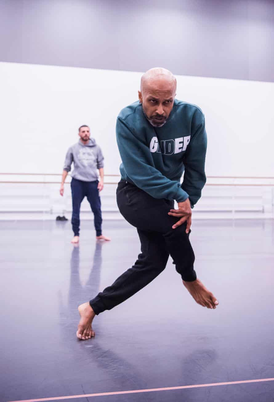 Rehearsals of Xenos by Akram Khan