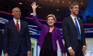 'Elizabeth Warren's stream of policy rollouts have set the standard by which the other candidates position themselves.'