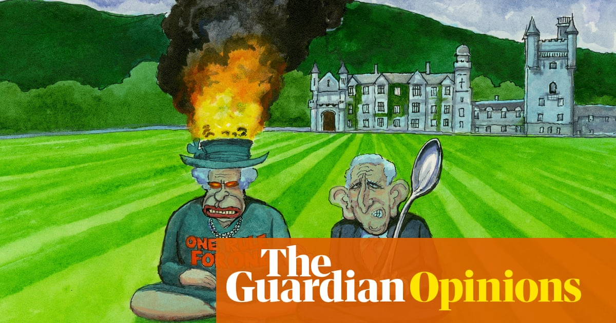 Steve Bell on the royal family's approach to the environment – cartoon