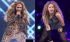 Jennifer Lopez and Shakira.