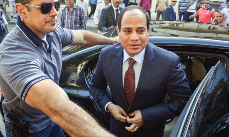 Egyptian president Abdel Fatah al-Sisi said the 'western perspective' on civil liberties should not be applied to Egypt.