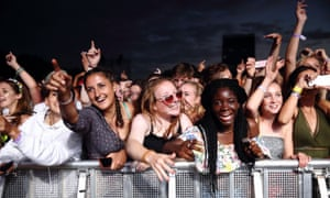 Crowds at Lovebox festival, one of London's music events to undergo major changes this year.