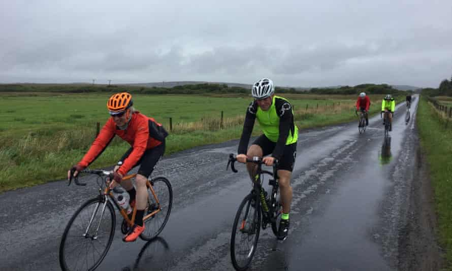 The Ride of the Falling Rain on the Hebridean island of Islay