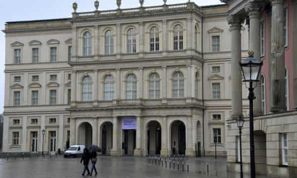 The reconstructed palace in Potsdam which houses the new Barberini museum.