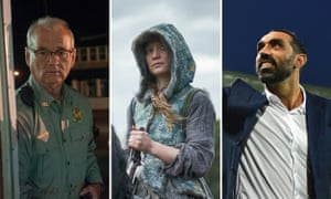 Sydney film festival highlights (L-R): Bill Murray in  Jim Jarmusch's The Dead Don't Die, Mia Wasikowska in Judy and Punch, and Adam Goodes in documentary The Final Quarter.