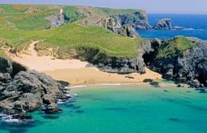 France, Brittany, Belle-Île, Atlantic ocean, Morbihan, Paluden Beach