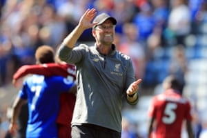 Relief for Liverpool and Jürgen Klopp.