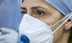 Dr Francesca Mangiatordi looks at a CT scan in Italy's Frontline: A Doctor's Diary.