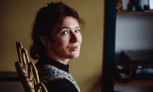 Angela Carter, pictured in 1981.