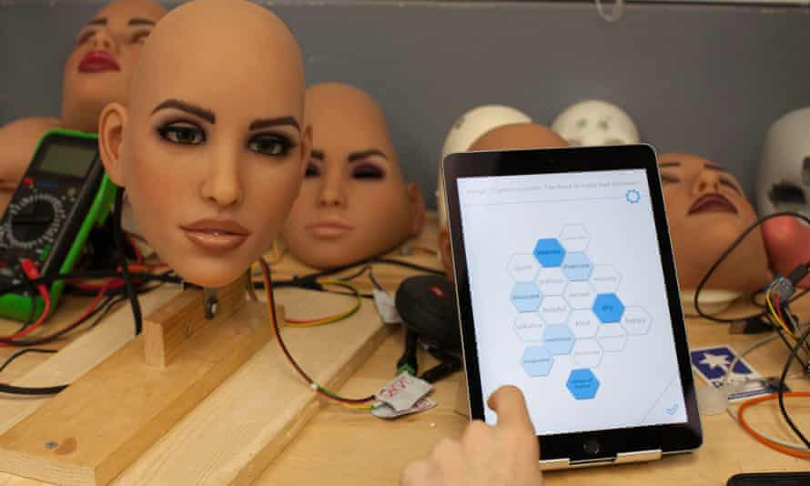 Prototypes featured in Channel 4's documentary, The Sex Robots Are Coming, which looked at just how close humans and machinery are going to get.