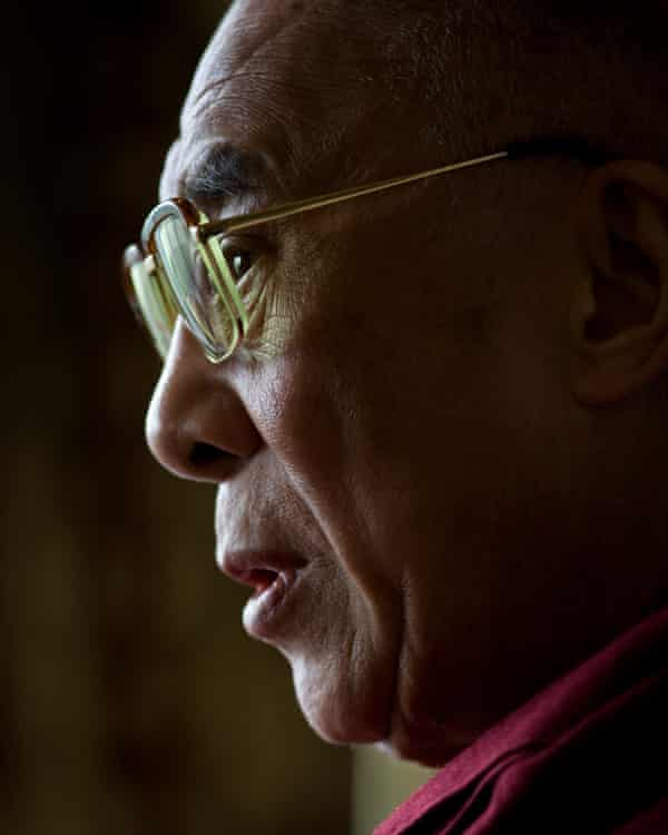 The Dalai Lama in London. Many relied on Dhonden for access to the spiritual leader.