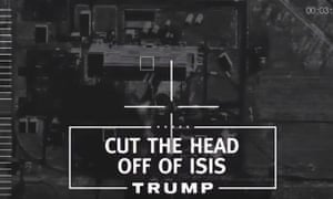 Trump ad: the perfect mix to appeal to his core voters.