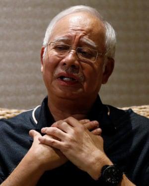 Malaysia's former prime minister Najib Razak has denied wrongdoing.