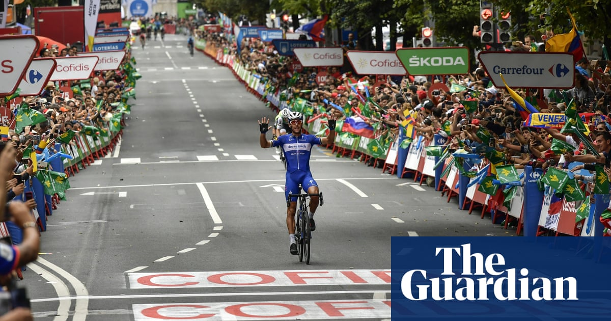 Vuelta a España: Philippe Gilberts Bilbao brilliance earns stage 12 win