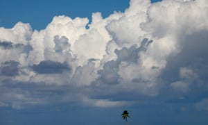 Clouds are a key component of the Earth's climate system.