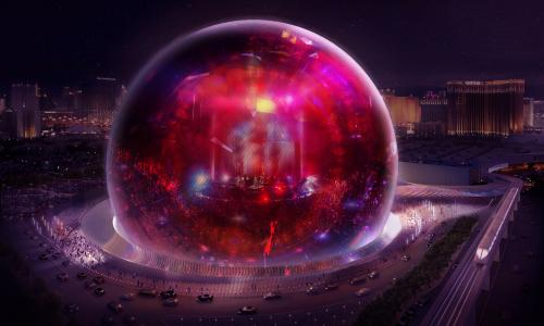The Sphere planned for Las Vegas by MSG, owned by James Dolan, a Trump backer and ex-Weinstein associate.