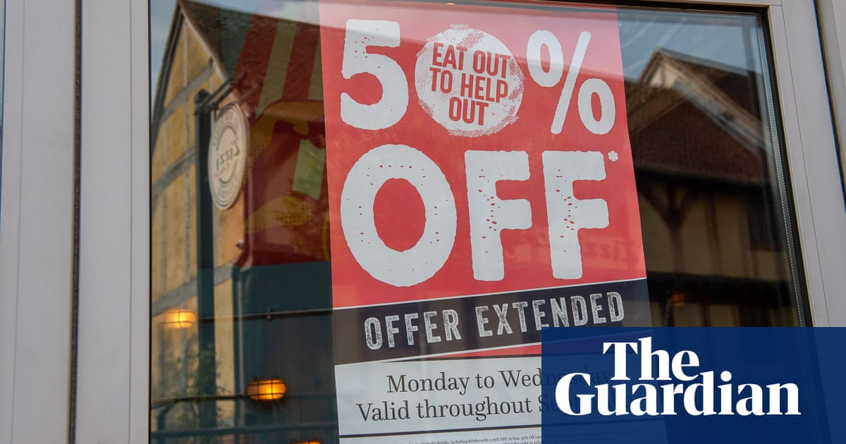 Britons eager to return to pre-Covid-levels of dining out – survey